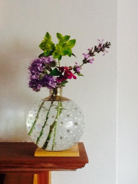 Vintage spotty vase now resides in West London.