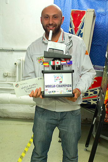 Daniele Acciari, multiple time IFPA World Champion.