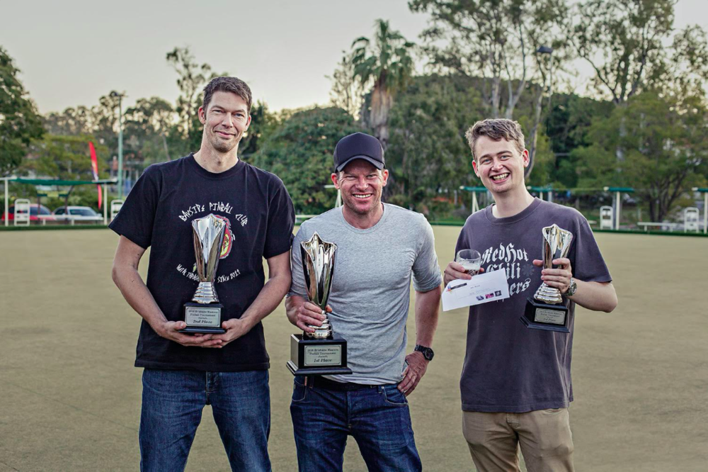 From left to right: Stuart Thornton (2nd place), Paul Jones (1st place), Jack Hutchinson (3rd place).    Photo by Matthew Venables Photography   .