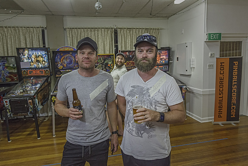 And your new (completely non PAPA verified) world pinball flips champions, are Paul Jones and Pat Nichols! I'm pretty sure Brett and Naiomi are required by law to fly the flips championship trophy from the USA to it's new home here in Australia.. Photo Matthew Venables Photography  http://mvenables.com