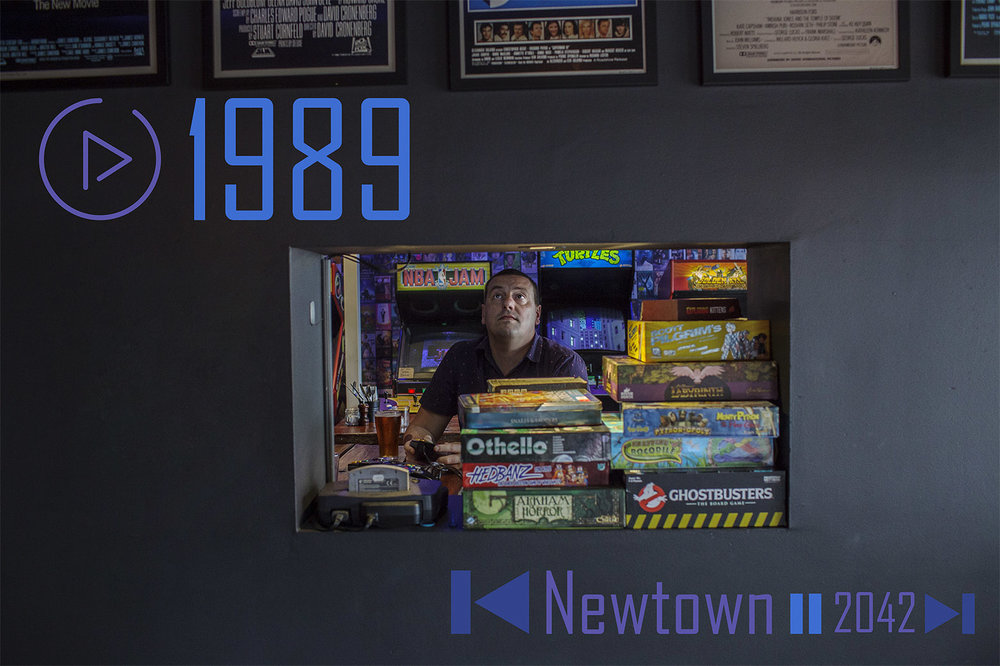 Check out the brand new section Play and feature on 1989 - Sydney's only bar-arcade.