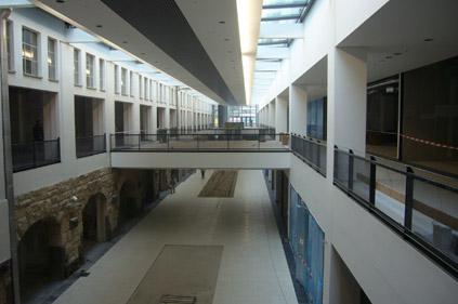 Mall kurz vor Fertigstellung