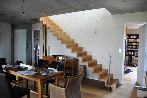 Loft Architektur ligne architekten wohnungsbau