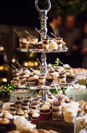 Catering desserts, cocktails, or dinner, it's our pleasure!