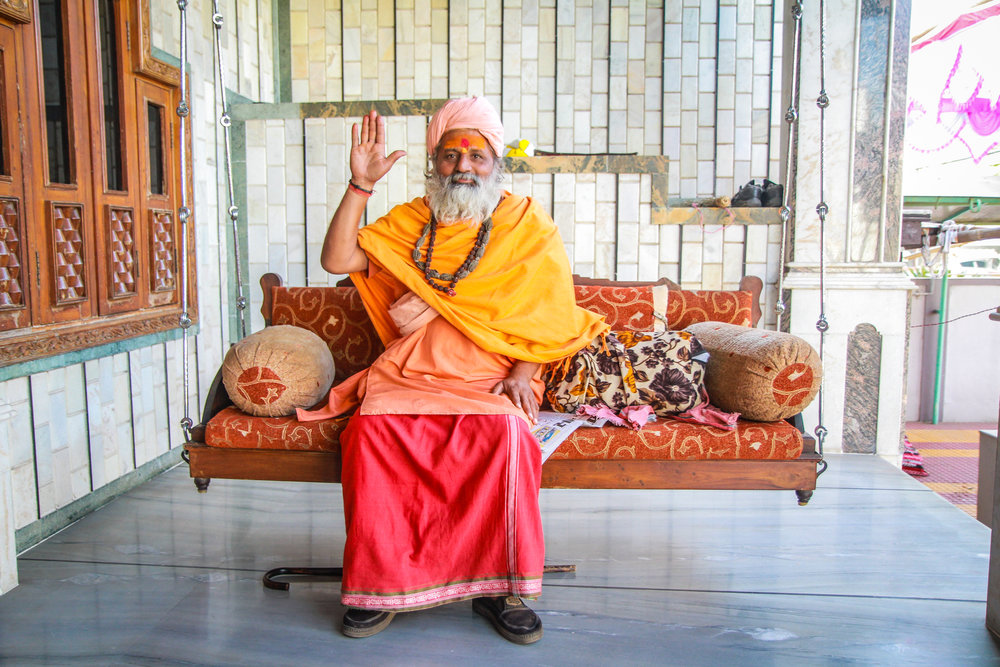 """""""Good Man"""" Baleshwar, Gujarat, India"""
