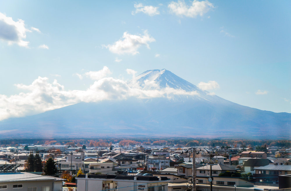 """Sleeping Beauty"" Mt. Fuji, Fuji, Japan"
