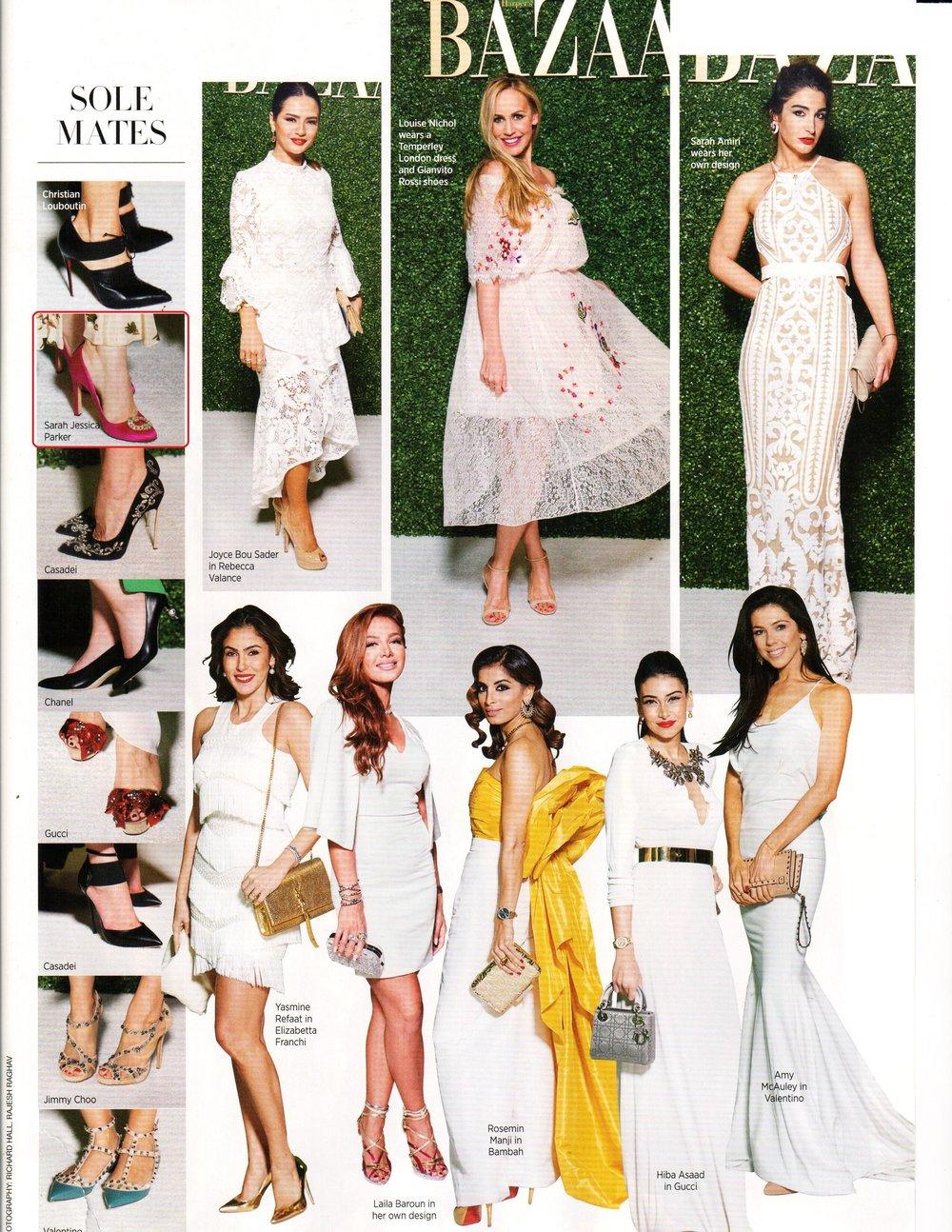 Harper's Bazaar Arabia - January 2017