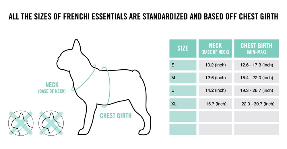 Blitzen Harness Sizing Chart