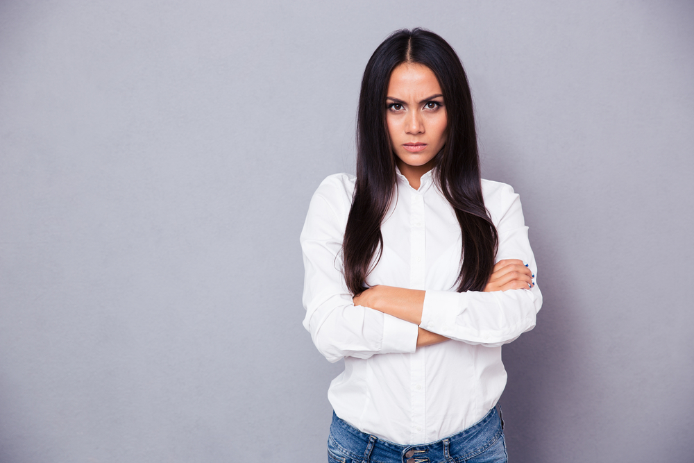 Angry Woman attends Anger Management Class at Bach Counseling