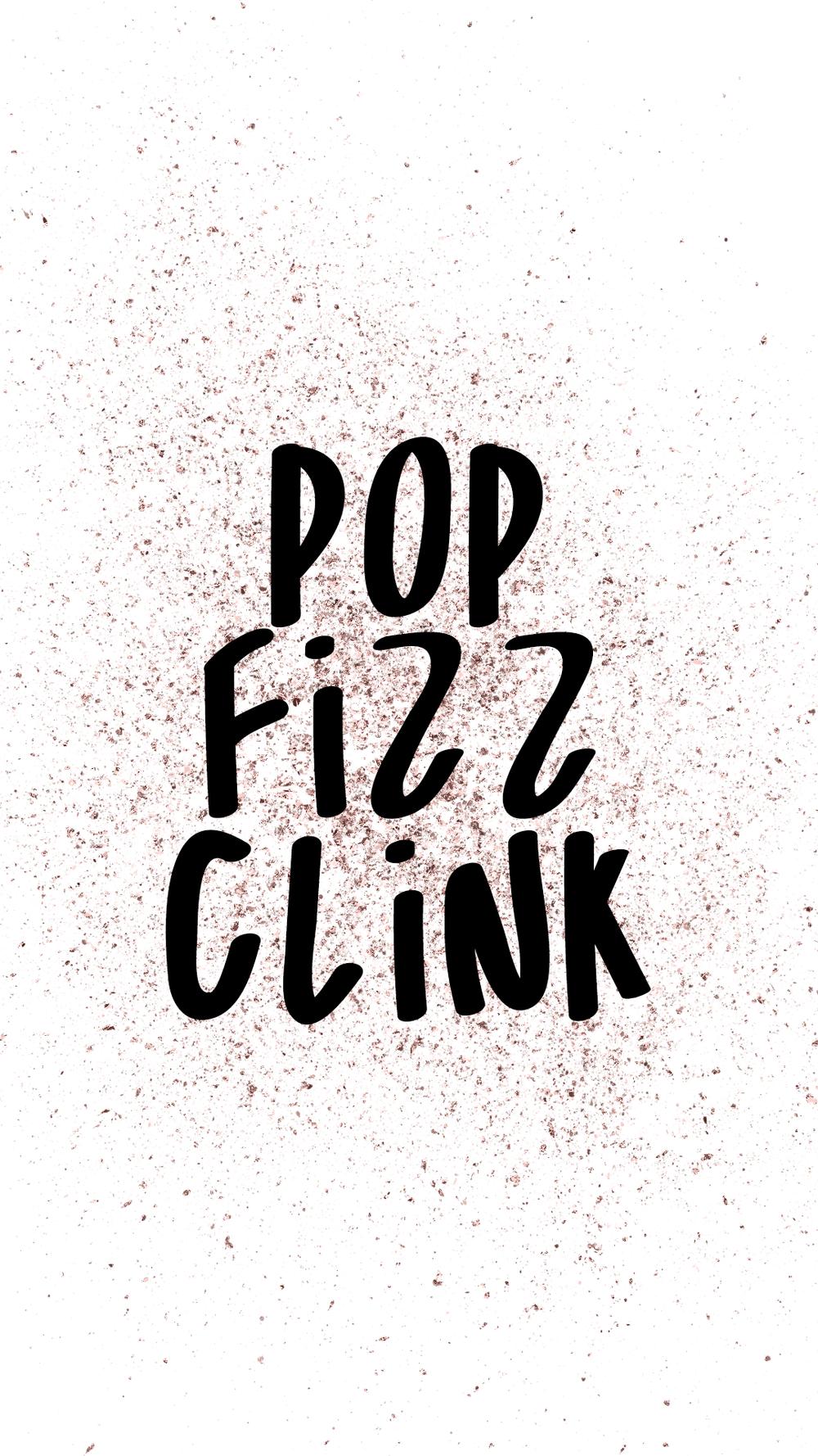 POP FIZZ CLINK WALLPAPER -
