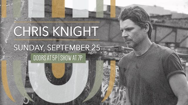 Chris Knight will be gracing the Uptown stage this Sunday evening and you do not want to miss this show! Doors open at 5pm and show starts at 7pm. VIP tables, Premium and General seating are still available but going fast so snag yours today: www.UptownSoundStudio.com/tickets #marblefalls #fiestajam #chrisknight #marblefallstx