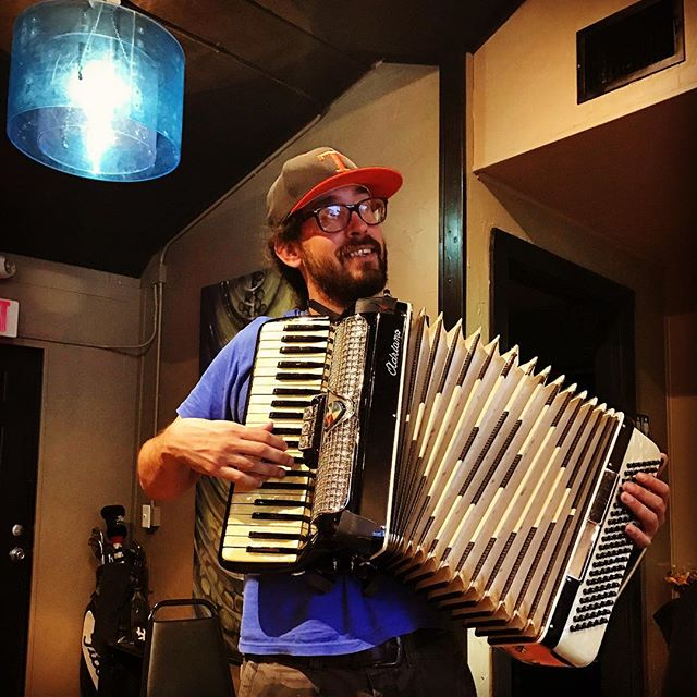 Is there anything this guy doesn't play? #accordion