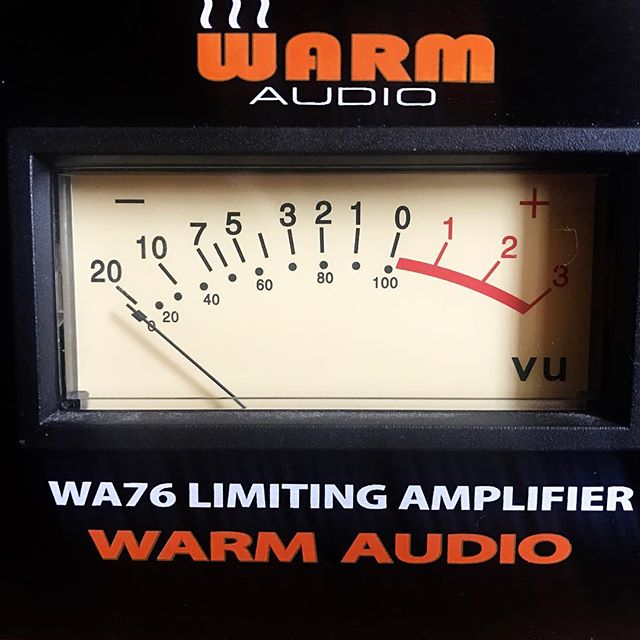 Finished mixing for the new Colton O'Neill Band album last night. We were lucky enough to have a UA 6176 on loan that got its fair share of use. That has to go back to its owner now but we're very excited to have a new (to us) #warmaudio WA76 added to our arsenal! Can't wait to put this guy to work  #recording #analog