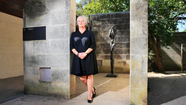 Natasha Cica, chief executive at the Heide Museum of Modern Art. Picture: Aaron Francis