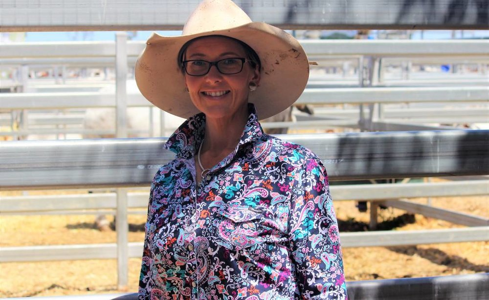 Rachael Cruwys was one of the Rockhampton Brahman Week attendees this year, sharing her fellowship thoughts with fellow attendees. Picture - Helen Walker.
