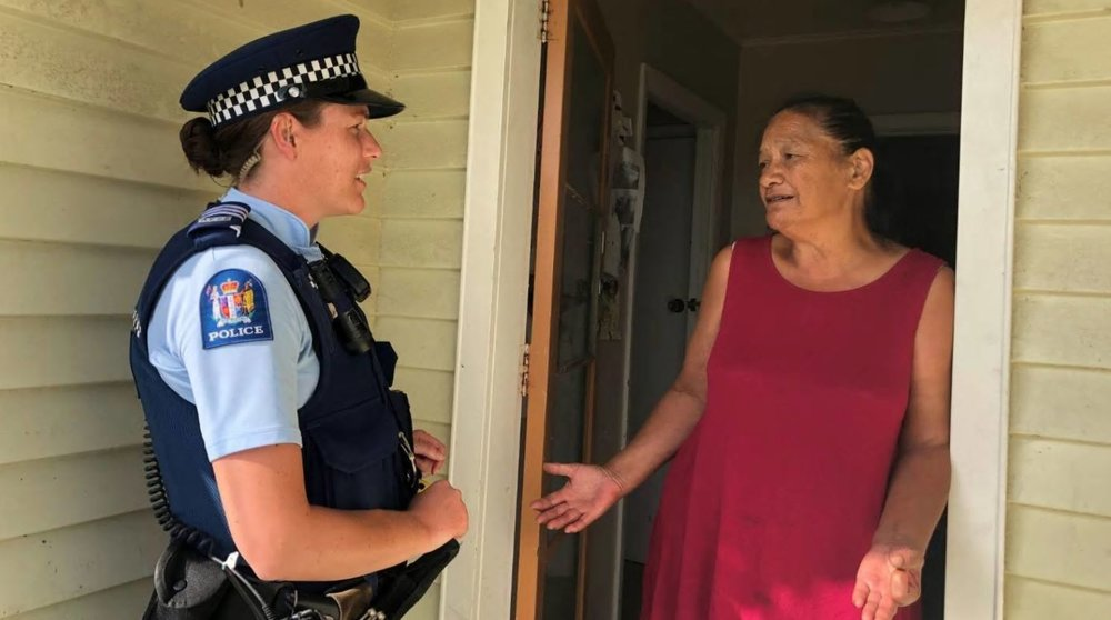 IMOGEN NEALE/STUFF  Papakura woman Charlotte Te Pou says the community she loves is struggling. She is among those to receive a food parcel from a charity that traditionally focuses on natural disasters.