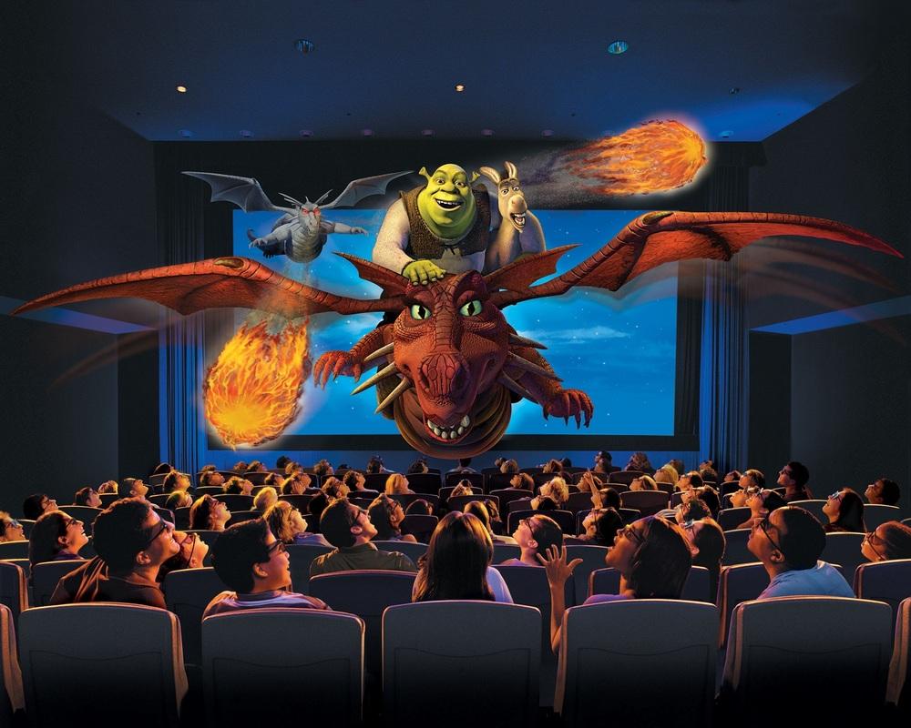 Artist rendering of Shrek 4D. Image credit: Universal Orlando Resort.