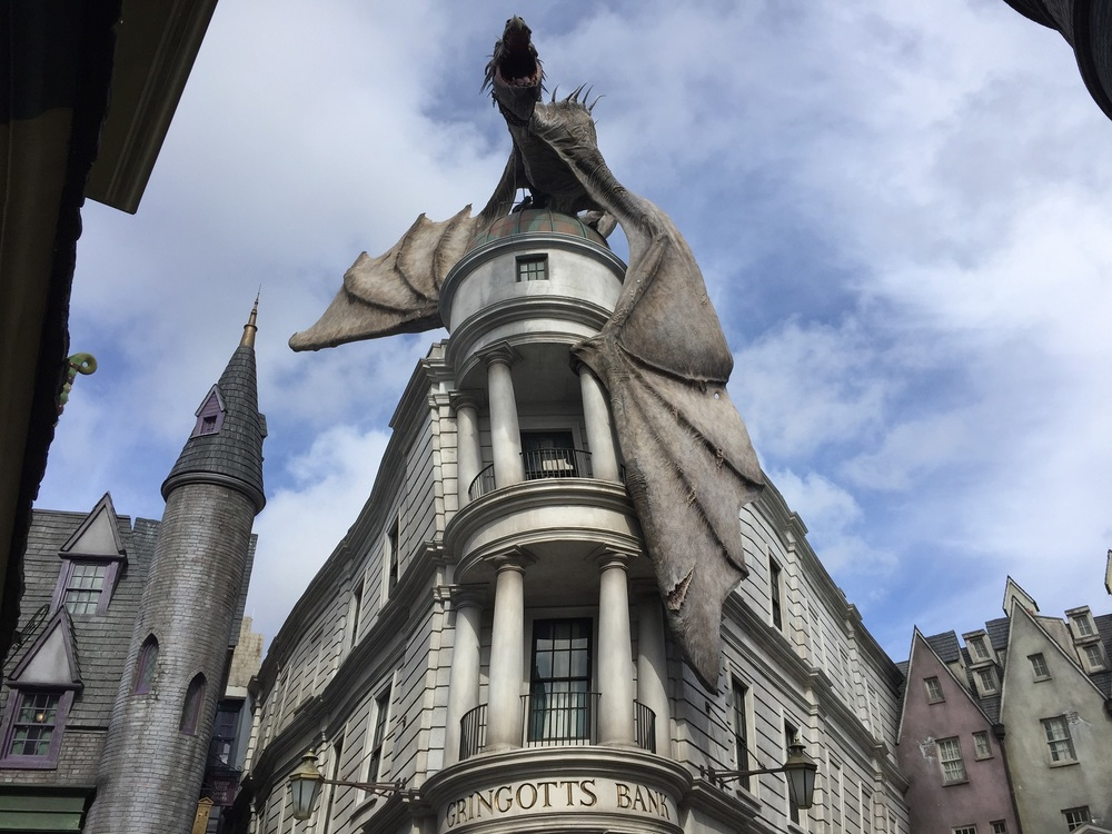 Harry Potter And The Escape From Gringotts In Universal