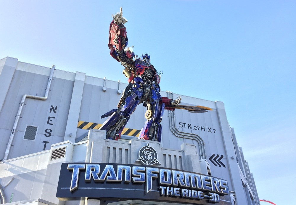 TRANSFORMERS: The Ride-3D is located in the N.E.S.T. building in Production Central.