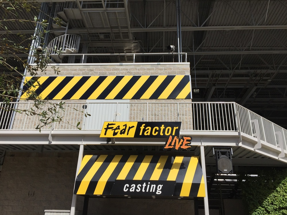 You must visit Fear Factor Live casting (near the show building) if you want to be a contestant in the show.