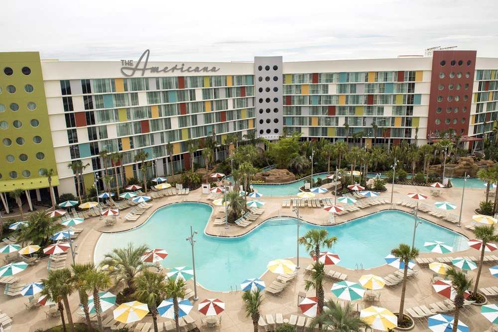 Cabana Bay Courtyard Pool