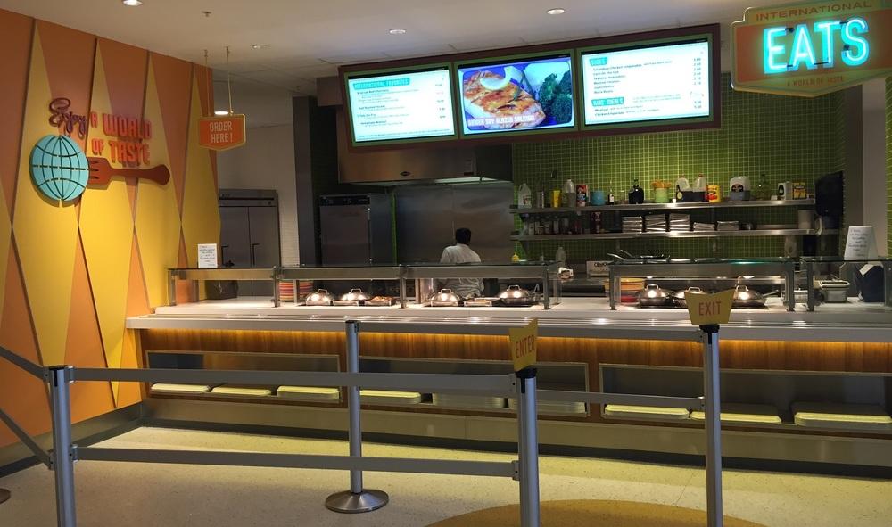 A World of Taste at Bayliner Diner