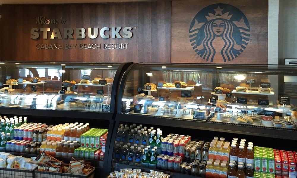 Starbucks Counter Cabana Bay