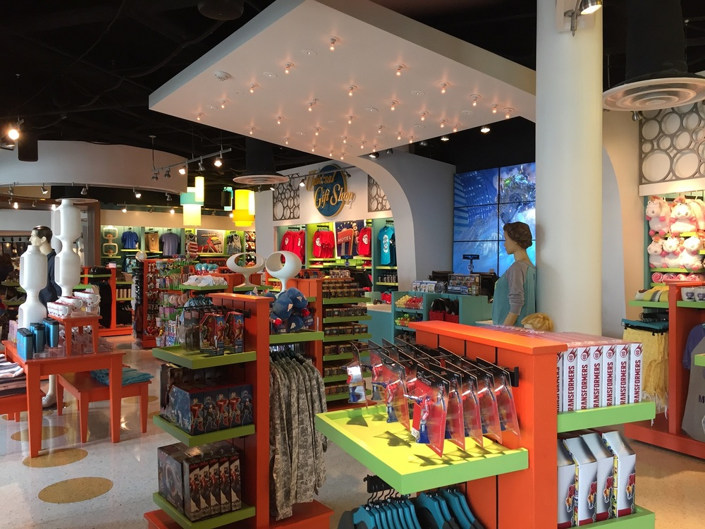 Merchandise Avaliable at Universal Gift Shop at Cabana Bay