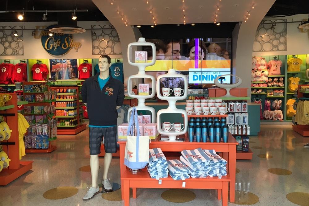 Cabana Bay Items in Universal Gift Shop at Cabana Bay