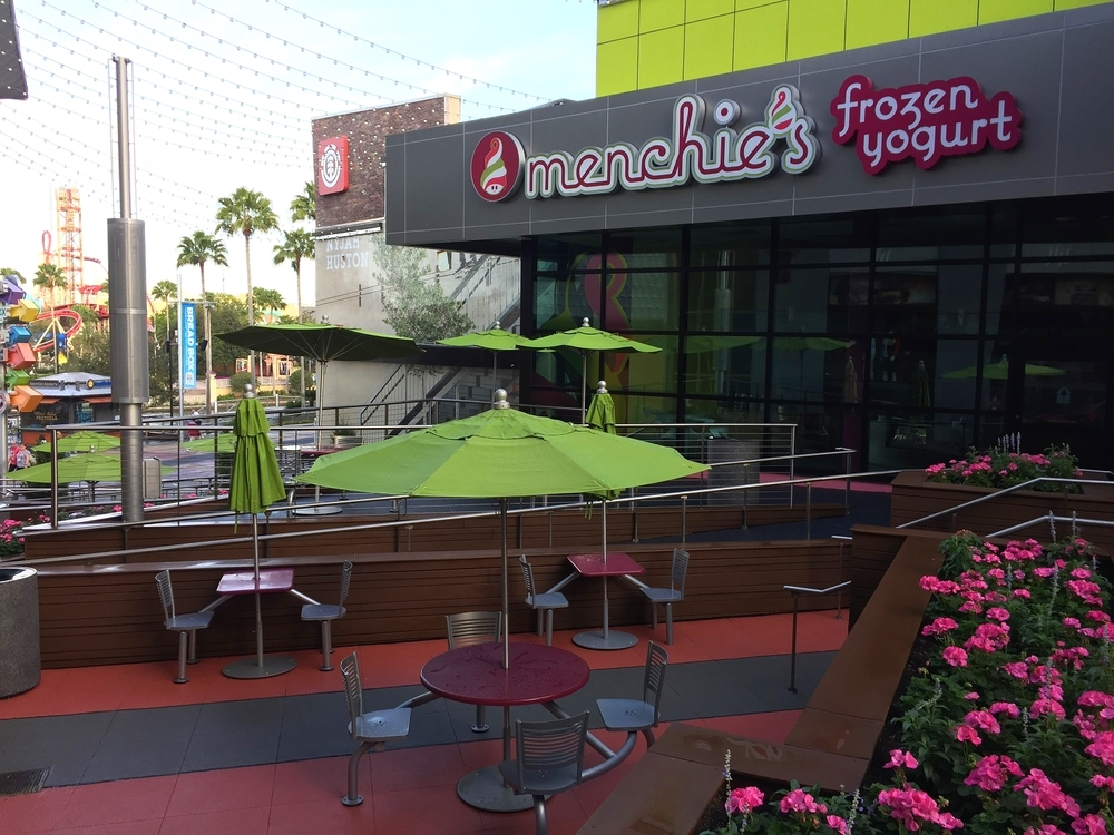 Menchie's Frozen Yogurt in Top of the Walk Food Court.