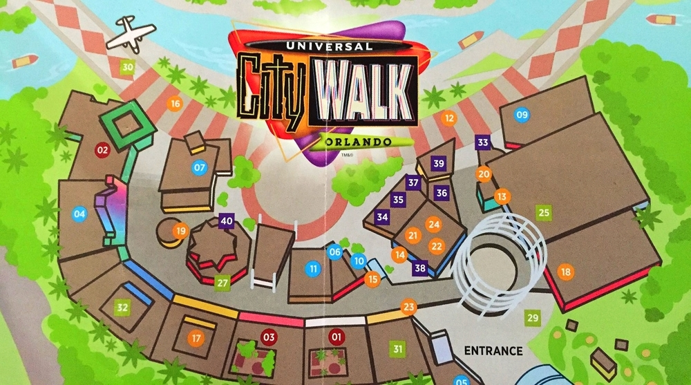 Universal City Walk Map Starbucks in Universal CityWalk Orlando — UO FAN GUIDE Universal City Walk Map