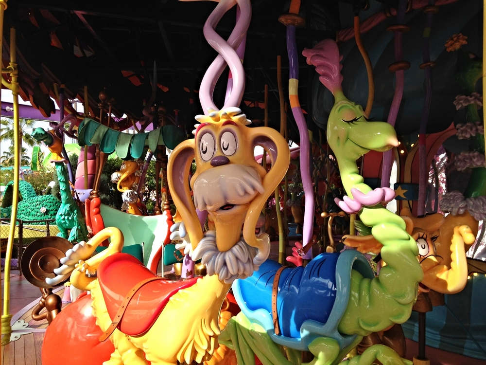Caro-Seuss-El Offers Lots of Different Seuss Creatures to Ride