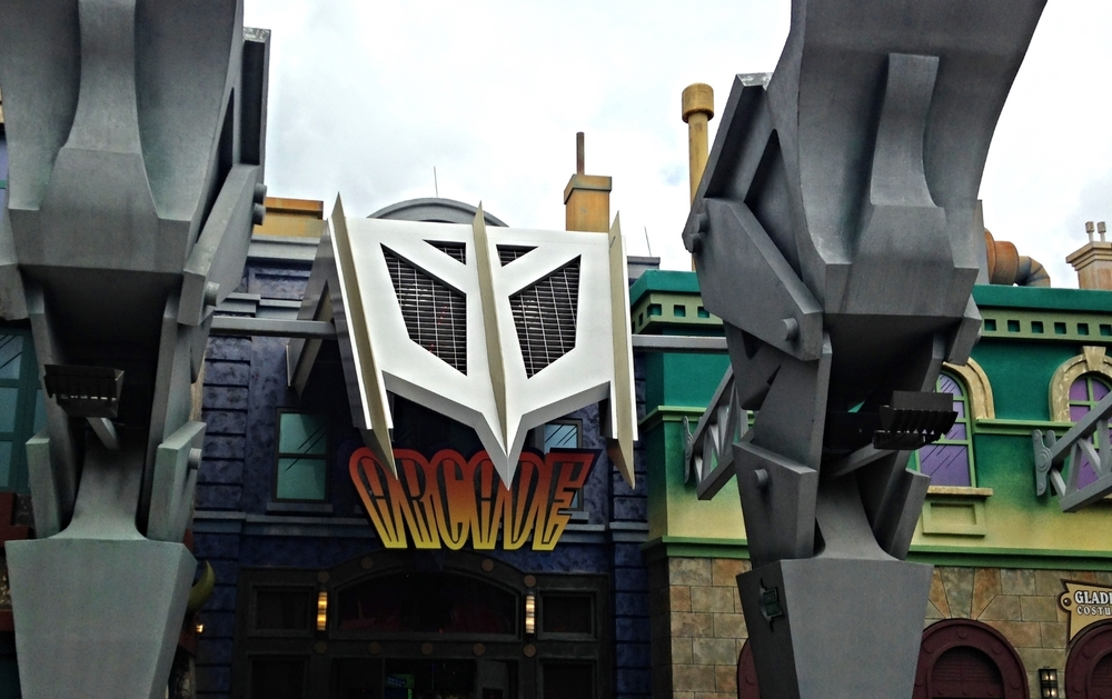 Arcade Near Doctor Doom's Fearfall