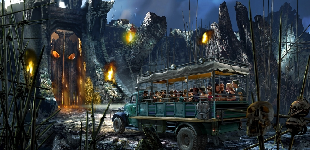 Skull Island: Reign of Kong Ride