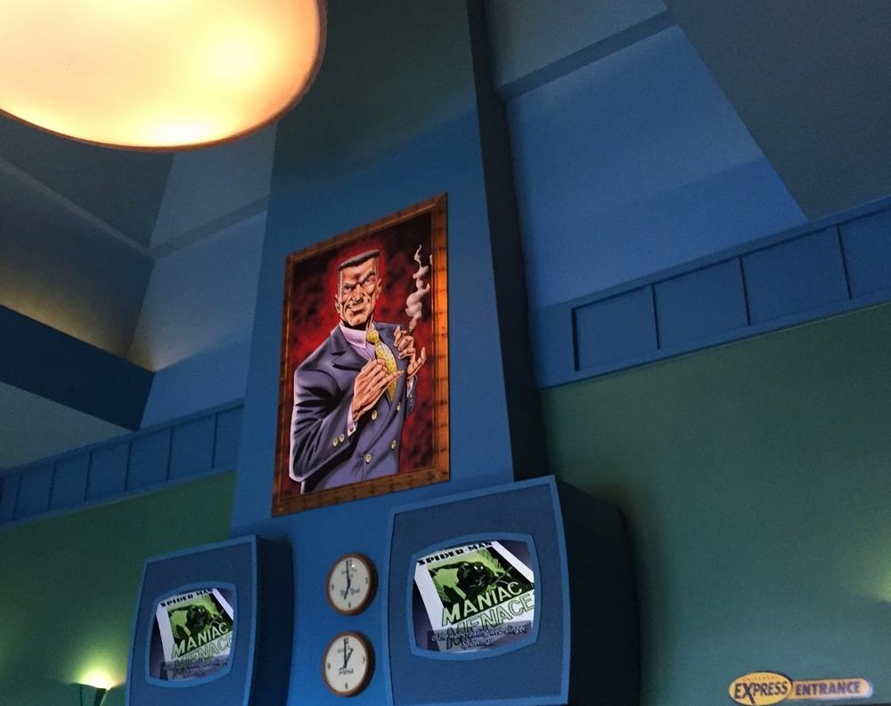 J. Jonah Jameson Portrait in Spider-Man Queue
