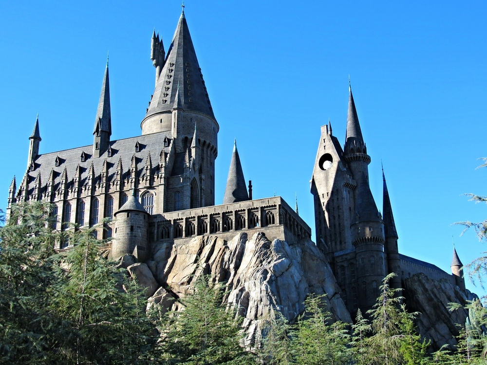 Hogwarts Castle Contains Harry Potter and the Forbidden Journey Ride