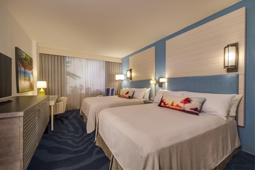 Sapphire Falls Resort standard room. Image credit: Universal Orlando Resort.