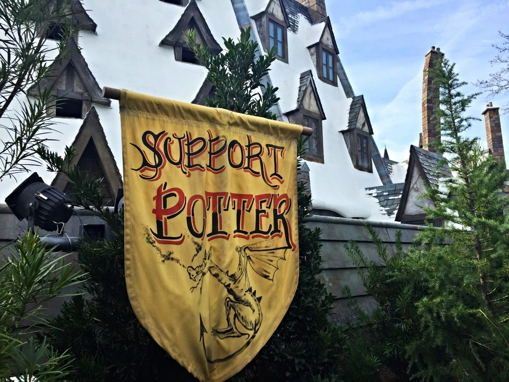 Support Potter Banner in Dragon Challenge Queue