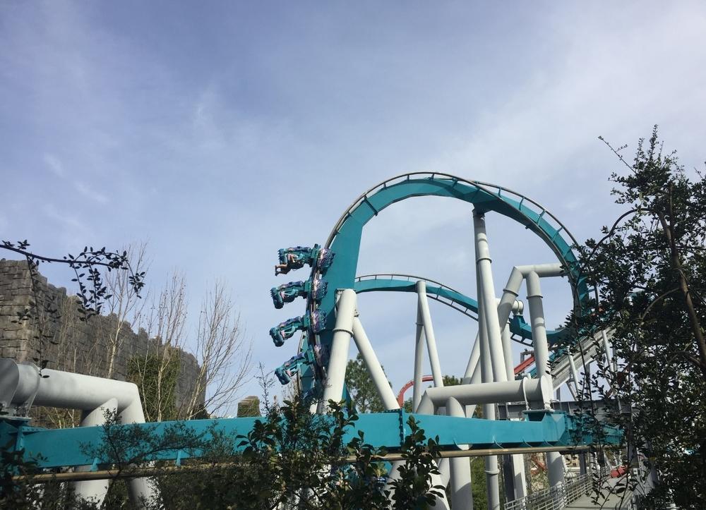 Finishing This Loop on Dragon Challenge