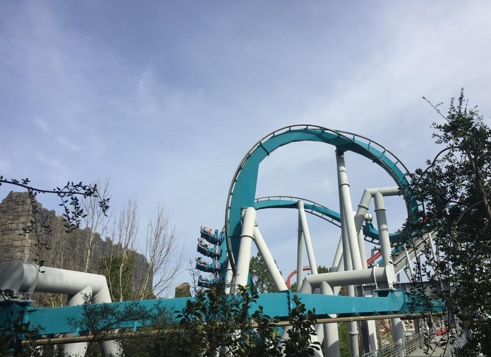 Dragon Challenge Ride