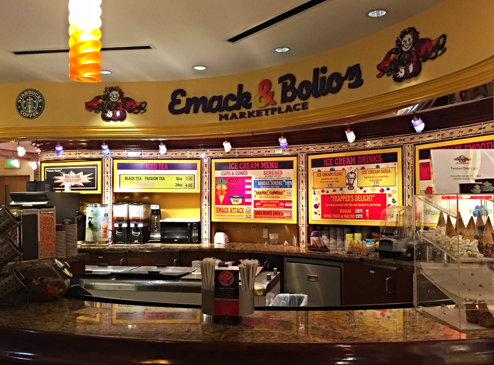 Emack and Bolio's Marketplace in Hard Rock Hotel.