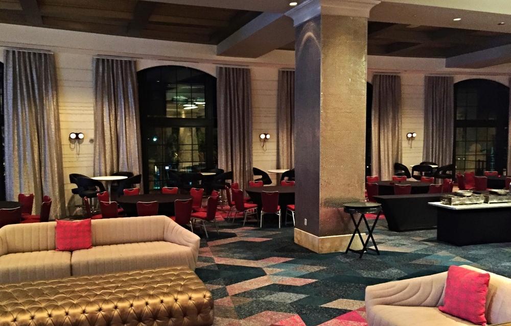 The Velvet Bar in Hard Rock Hotel.