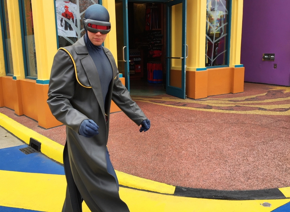 Cyclops in Marvel Super Hero Island