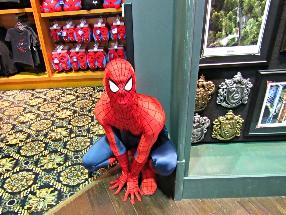 Found Spider Man in Islands of Adventure