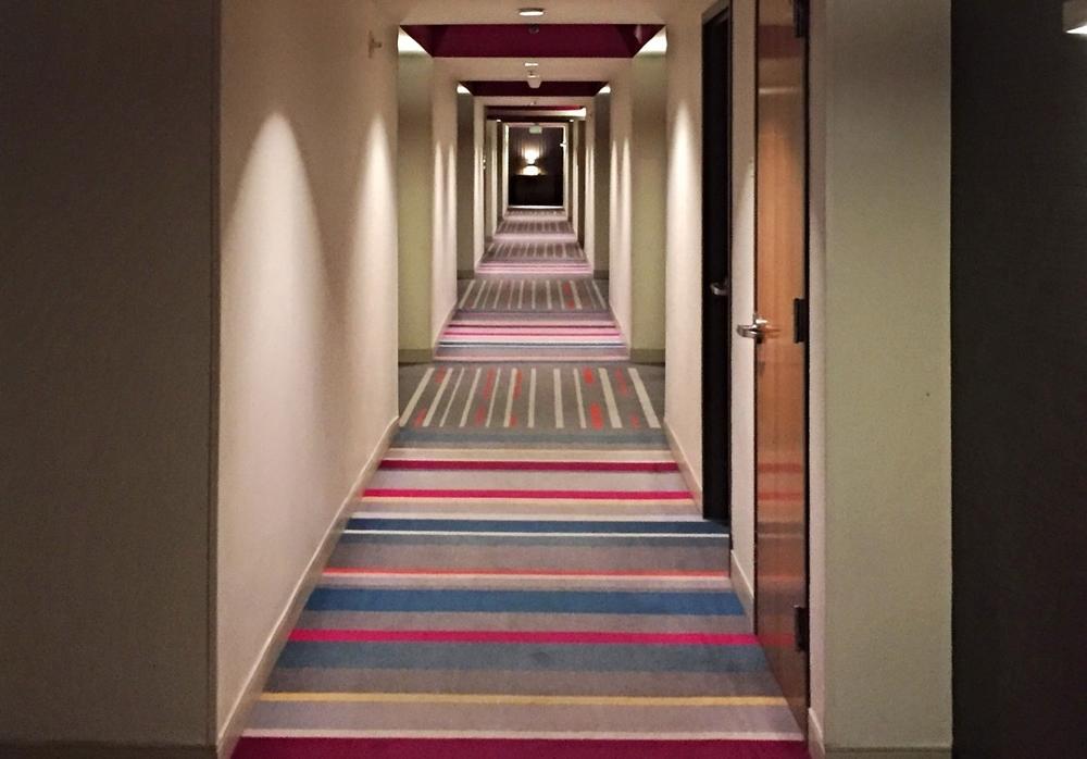 Hallway to Rooms at Hard Rock Hotel Orlando