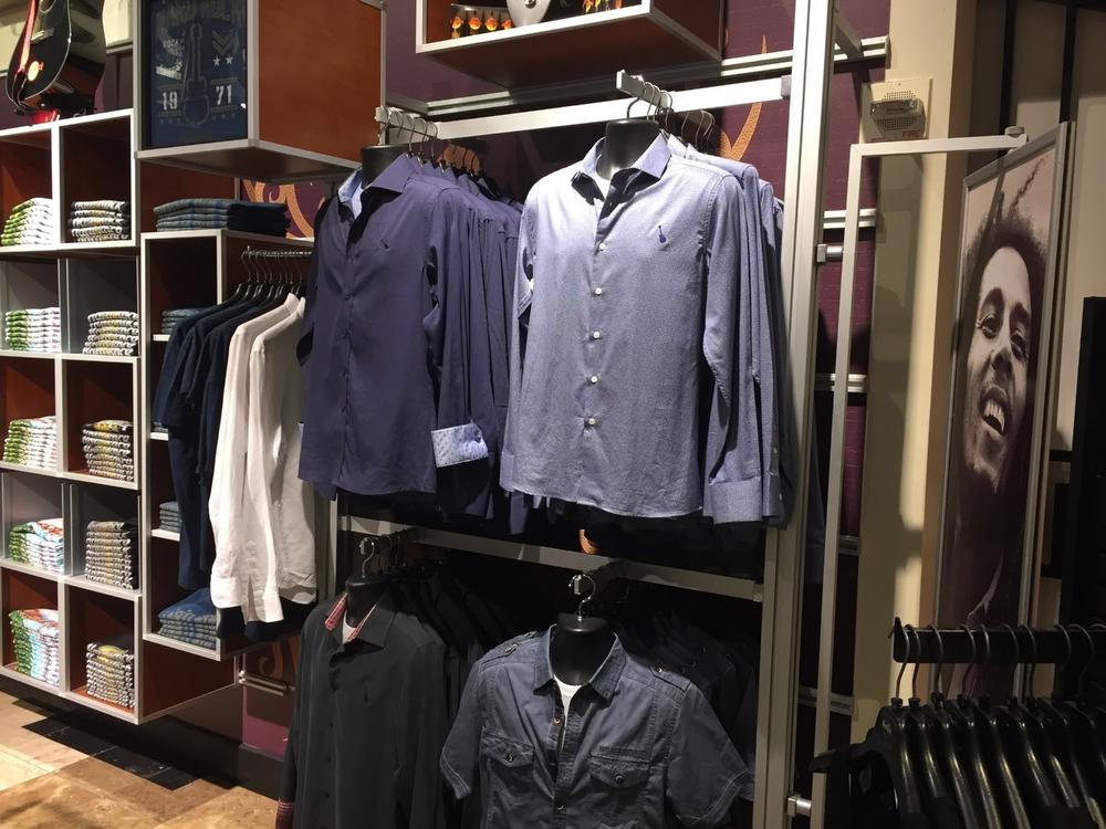 Men's Apparel at Rock Shop in Hard Rock Hotel Orlando