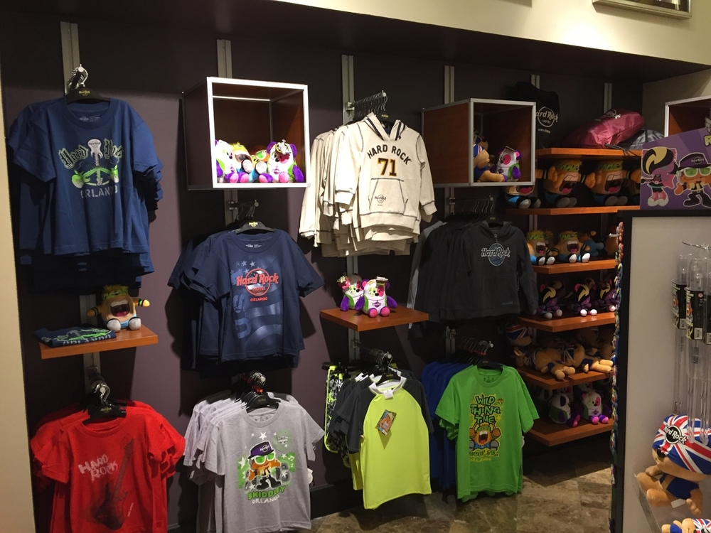 Kids Clothing at Rock Shop in Hard Rock Hotel Orlando