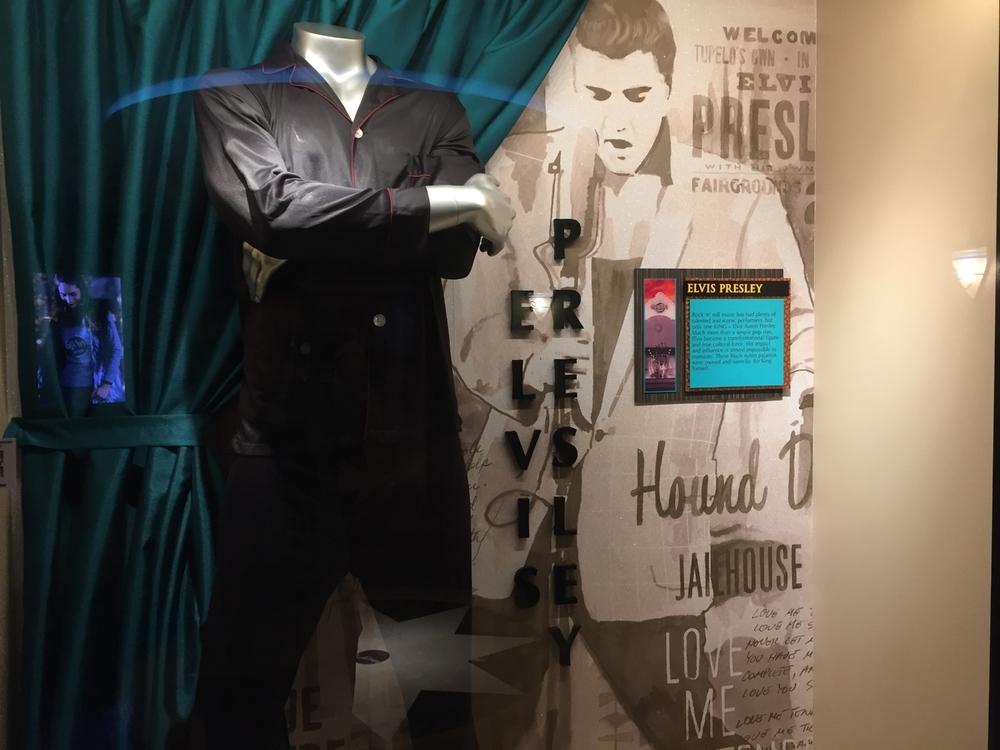 Elvis Memorabilia Display at Hard Rock Hotel Orlando