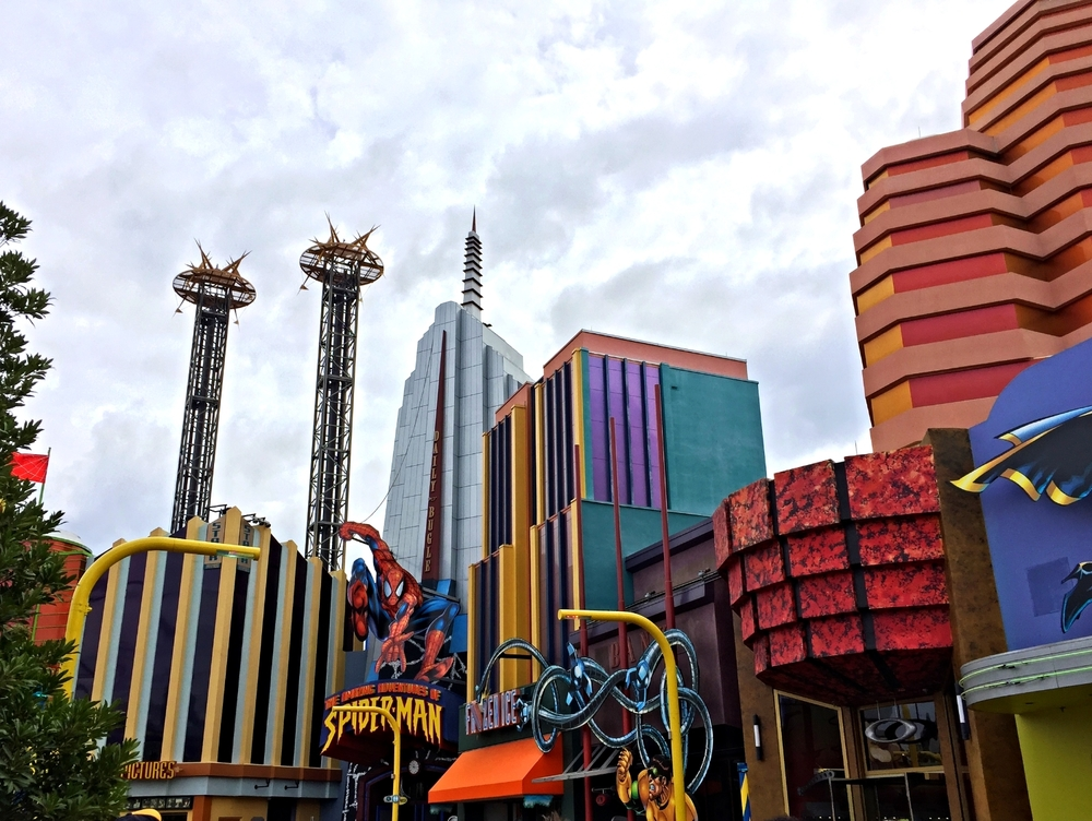 Marvel Super Hero Island in Islands of Adventure.