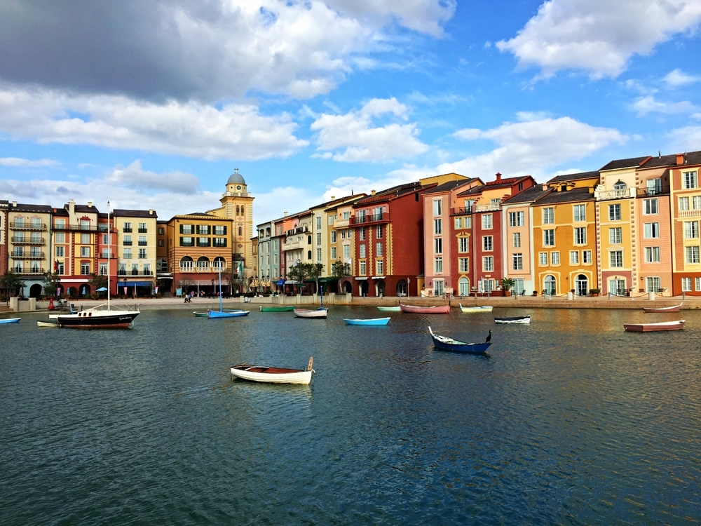 Loews Portofino Bay Resort Harbor Piazza